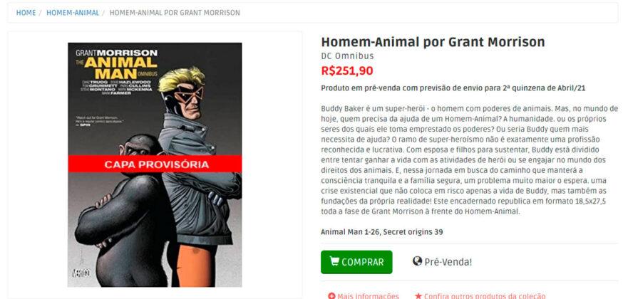 homem-animal-omnibus-panini-comics